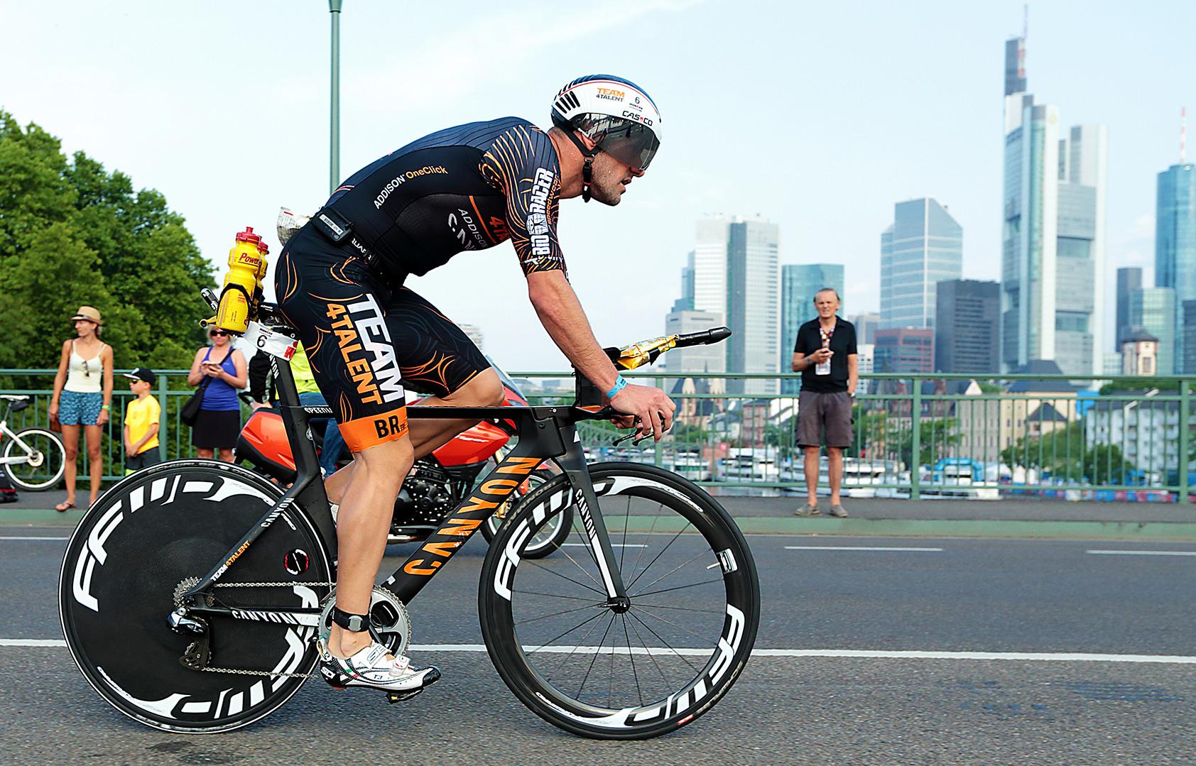 Derde race Ironman Frankfurt / Europees kampioenschap!